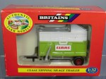 Britains 9566 Claas tipping silage trailer